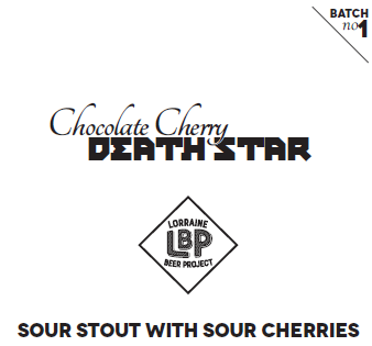 Chocolate Cherry Death Star