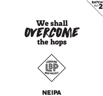 We shall overcome the hops